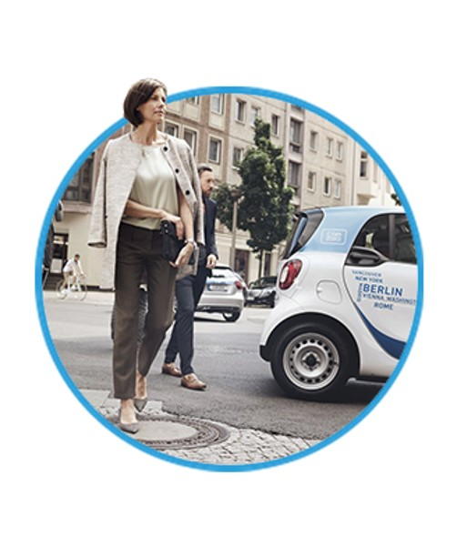 car2go business - Arbeitsweg