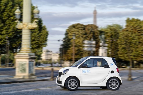 Autodeeldienst car2go start januari 2019 in Parijs