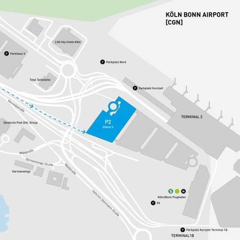 Sky 2 Karte.Carsharing Cologne Bonn Airport Car2go Cologne