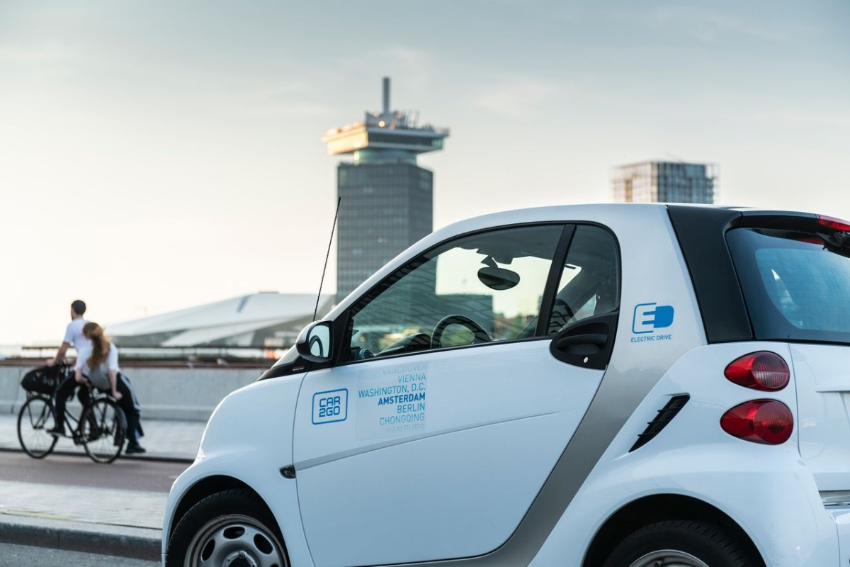 Car To Go >> Carsharing Amsterdam Car2go Electric Drive