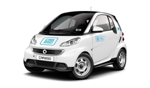 Carsharing Amsterdam   car2go Electric Drive